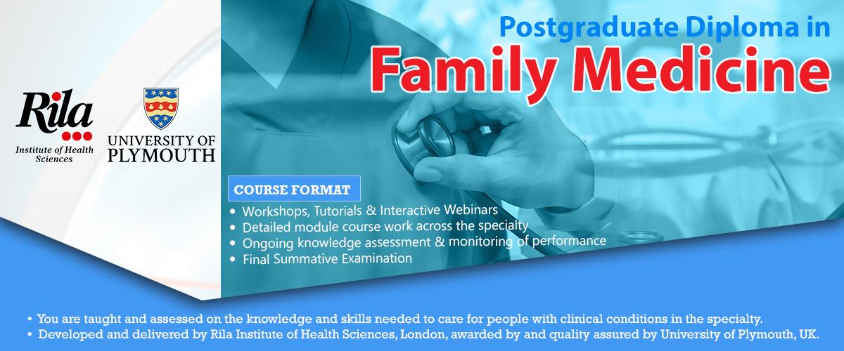 Postgraduate Diploma in Family Medicine | GP Courses
