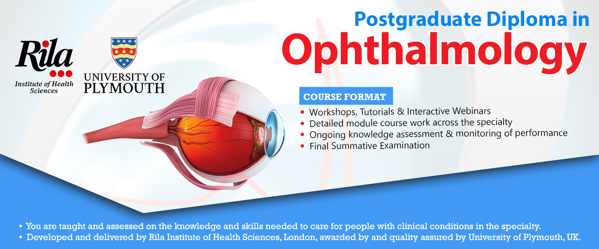Postgraduate Diploma in Ophthalmology   GP Courses